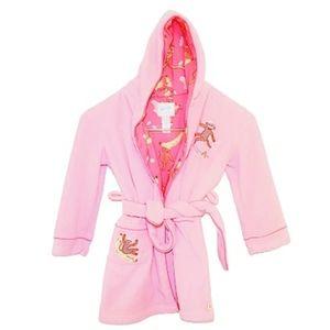 #981 Nick & Nara Sleepwear Bath Robe Monkey Small